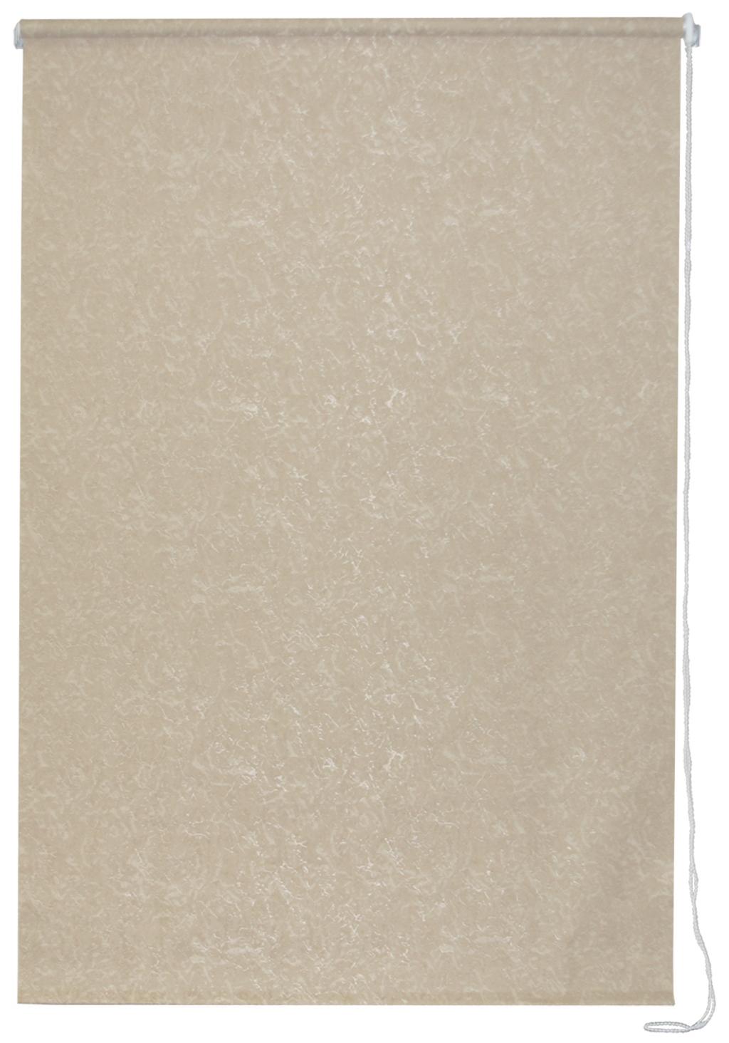 Рулонная штора УЮТРулонные шторы<br>Коллекция: Фрост,<br>Материал: полиэстер,<br>Цвет: бежевый,<br>Размеры: 500х1750,<br>Ширина: 500,<br>Высота (см): 175<br>