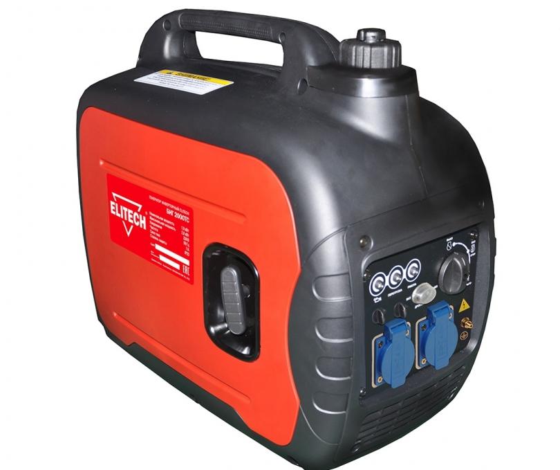 Инверторный бензиновый генератор Elitech