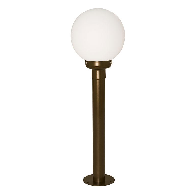 Светильник уличный СЕВЕРНЫЙ СВЕТСветильники уличные<br>Мощность: 60,<br>Тип установки: на землю/пол,<br>Стиль светильника: хай-тек,<br>Материал светильника: металл, стекло,<br>Количество ламп: 1,<br>Тип лампы: накаливания,<br>Патрон: Е27,<br>Цвет арматуры: бронза,<br>Высота: 855,<br>Коллекция: Сад-4<br>