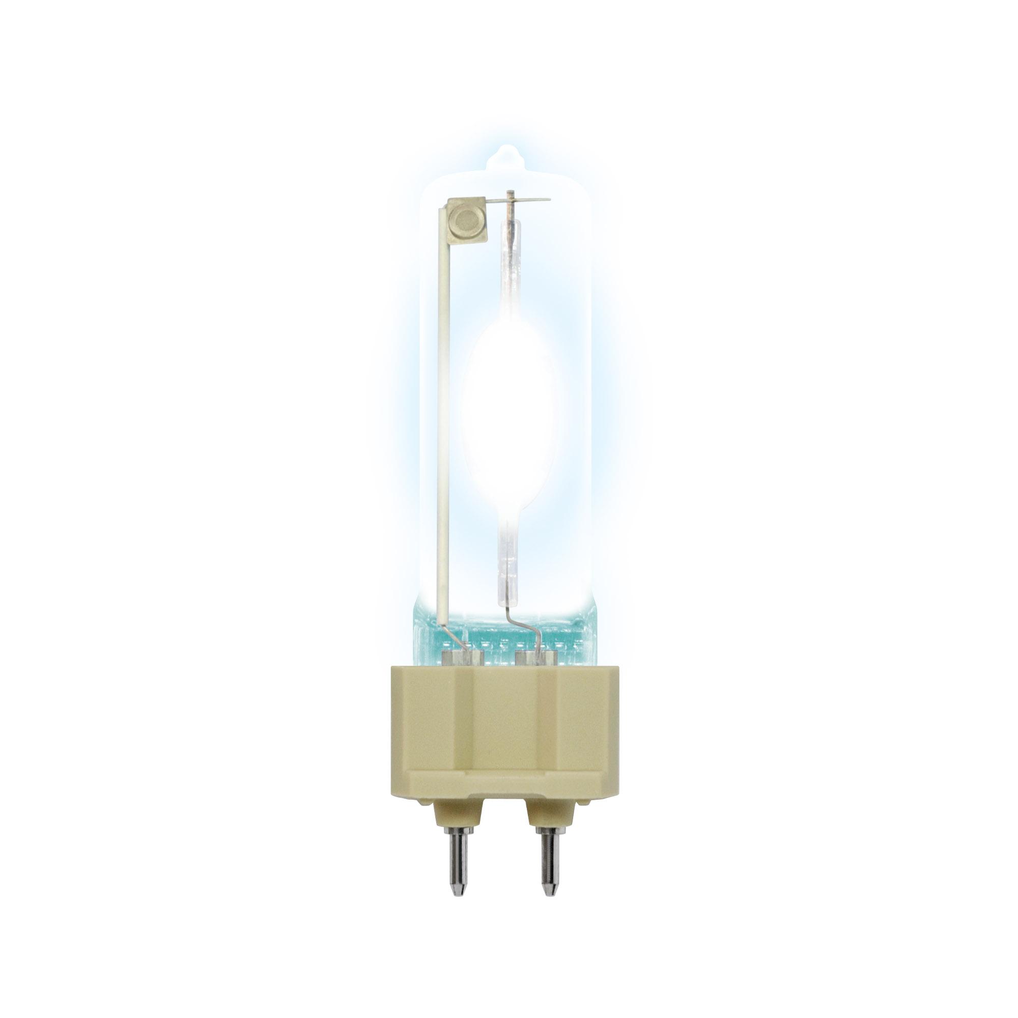 Лампа газоразрядная UnielЛампы<br>Тип лампы: галогенная,<br>Форма лампы: цилиндрическая,<br>Цвет колбы: прозрачная,<br>Тип цоколя: G12,<br>Мощность: 150,<br>Цветовая температура: 3300,<br>Цвет свечения: теплый<br>