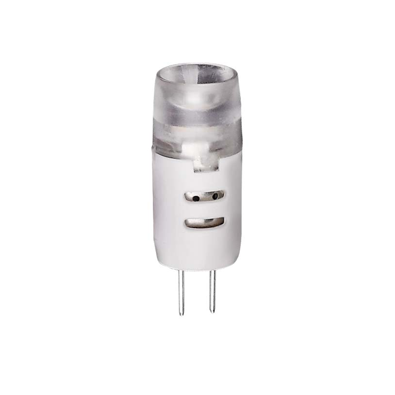 Лампа светодиодная VolpeЛампы<br>Тип лампы: светодиодная, Форма лампы: капсульная, Цвет колбы: матовая, Тип цоколя: G4, Напряжение: 220-240, Мощность: 2, Цветовая температура: 3000, Цвет свечения: теплый, Длина (мм): 33<br>