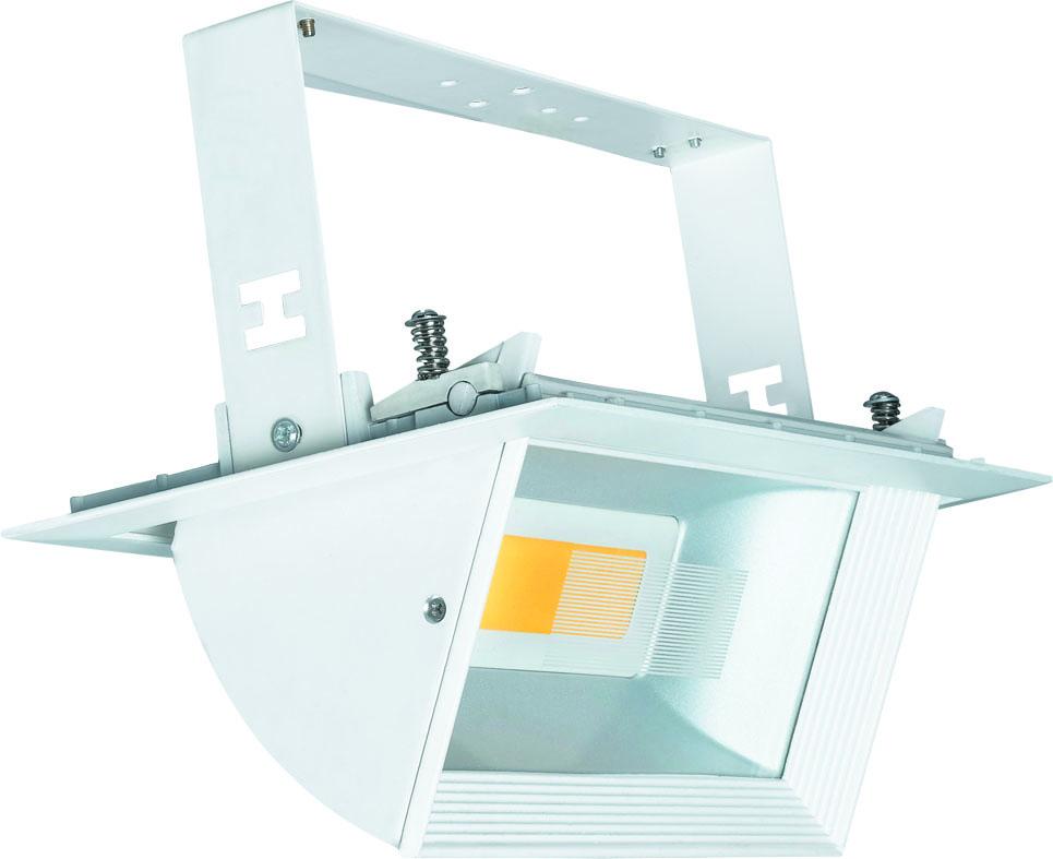 Светильник встраиваемый Uniel Ulk-m02g-45w/nw white