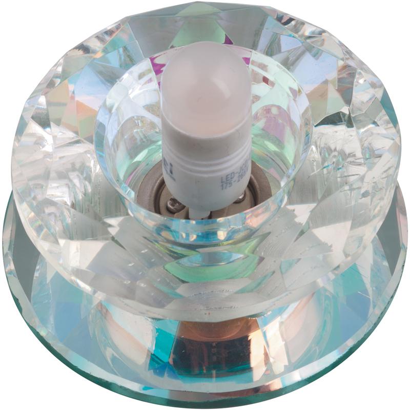 Светильник встраиваемый FamettoСветильники встраиваемые<br>Стиль светильника: модерн,<br>Диаметр: 70,<br>Форма светильника: круг,<br>Материал светильника: стекло,<br>Количество ламп: 1,<br>Тип лампы: галогенная,<br>Мощность: 40,<br>Патрон: G9,<br>Цвет арматуры: хром,<br>Назначение светильника: для комнаты<br>