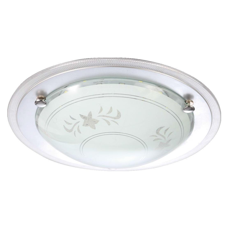 Светильник настенно-потолочный VolpeСветильники настенно-потолочные<br>Мощность: 12,<br>Количество ламп: 1,<br>Назначение светильника: для комнаты,<br>Стиль светильника: модерн,<br>Материал светильника: стекло,<br>Тип лампы: светодиодная,<br>Ширина: 340,<br>Высота: 340,<br>Диаметр: 340,<br>Патрон: LED,<br>Цвет арматуры: серебристый,<br>Степень защиты от пыли и влаги: IP 20<br>