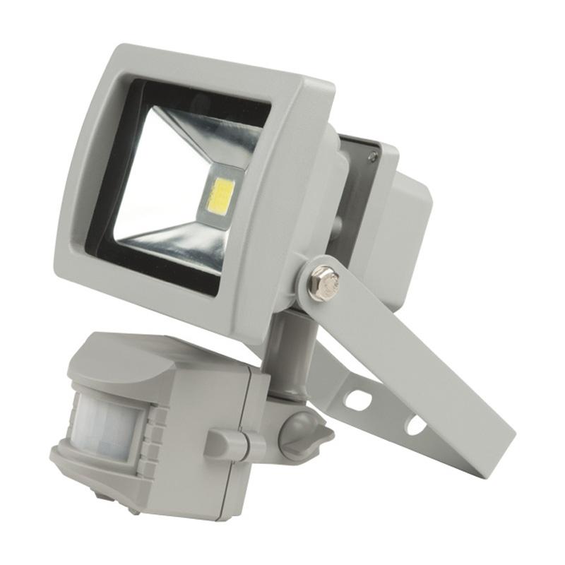 Прожектор Uniel Ulf-s21-10w/dw sensor ip54 110-240В