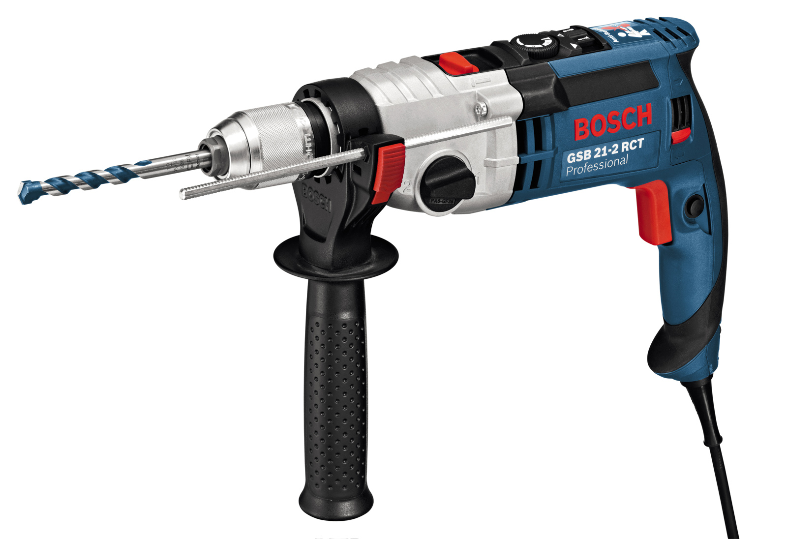 Дрель ударная BoschДрели ударные<br>Мощность: 1300, Скорости: 2, Обороты: 0-900/0-3000, Макс. обороты: 3000, Быстрозажимной патрон: есть, Диаметр патрона: 13, Тип патрона: БЗП, Число ударов: 51000, Макс. диаметр сверления (металл): 16, Макс. диаметр сверления (дерево): 40, Макс. диаметр сверления (камень): 22, Две и более механических скоростей: есть, Поддержание постоянного количества оборотов: есть, Электронная регулировка числа оборотов: есть, Реверс: есть, Предохранительная муфта: есть, Вес нетто: 2.9, Поставляется в: кейсе, BOSCH Professional: есть<br>