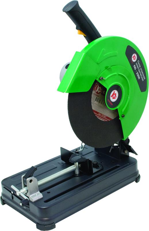 Машина отрезная КАЛИБРМашины отрезные по металлу<br>Круг: 335,<br>Тип диска: абразивный,<br>Мощность: 2200,<br>Обороты: 3600,<br>Глубина пропила: 100,<br>Вес нетто: 15,<br>Привод: прямой<br>