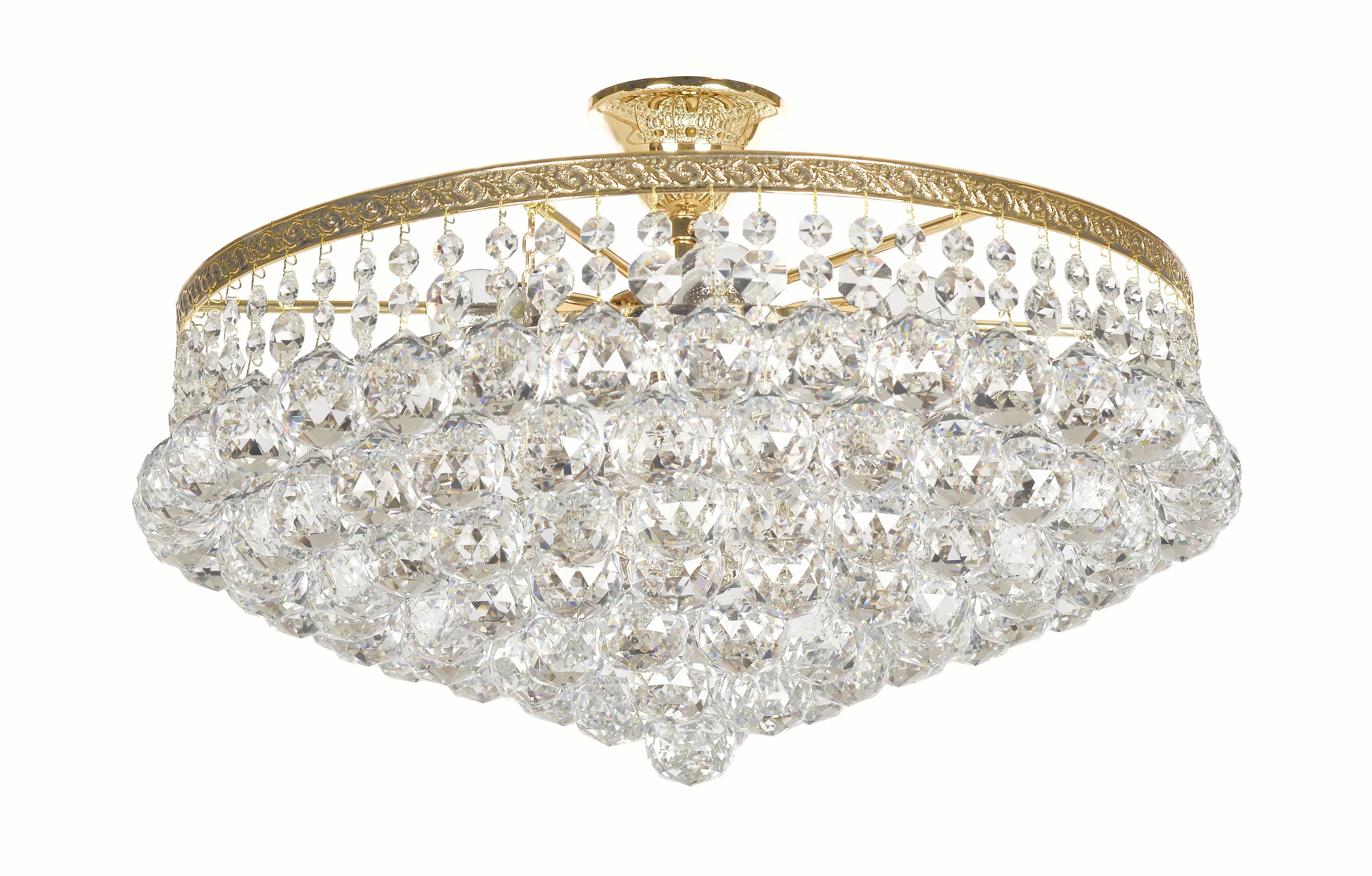 Люстра Arti lampadariЛюстры<br>Назначение светильника: для комнаты,<br>Стиль светильника: классика,<br>Материал плафона: стекло, хрусталь,<br>Материал арматуры: металл,<br>Диаметр: 250,<br>Высота: 460,<br>Количество ламп: 6,<br>Тип лампы: накаливания,<br>Мощность: 60,<br>Патрон: Е27,<br>Цвет арматуры: золото<br>