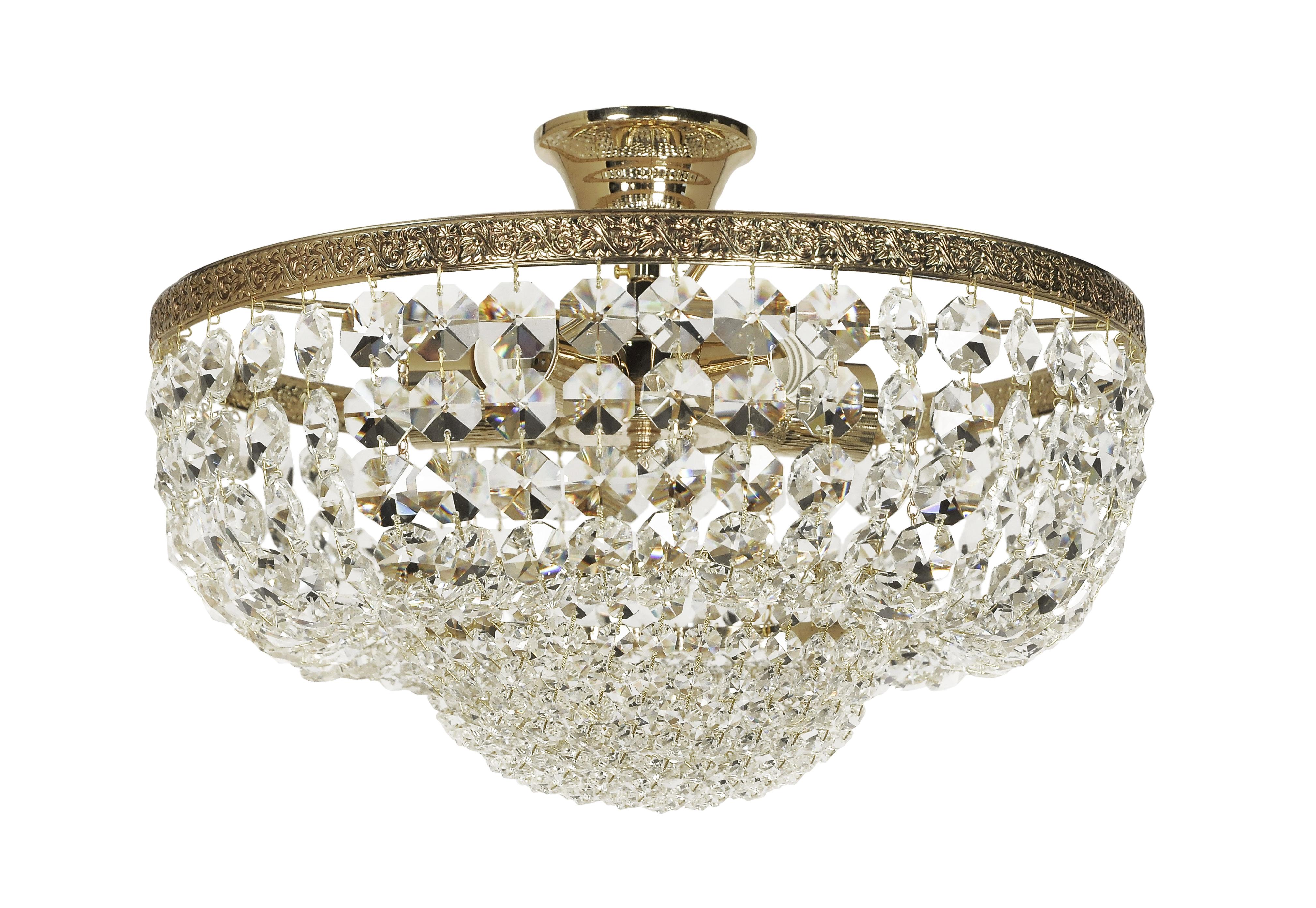 Люстра Arti lampadariЛюстры<br>Назначение светильника: для комнаты,<br>Стиль светильника: классика,<br>Материал плафона: стекло, хрусталь,<br>Материал арматуры: металл,<br>Диаметр: 300,<br>Высота: 400,<br>Количество ламп: 5,<br>Тип лампы: накаливания,<br>Мощность: 60,<br>Патрон: Е27,<br>Цвет арматуры: золото<br>