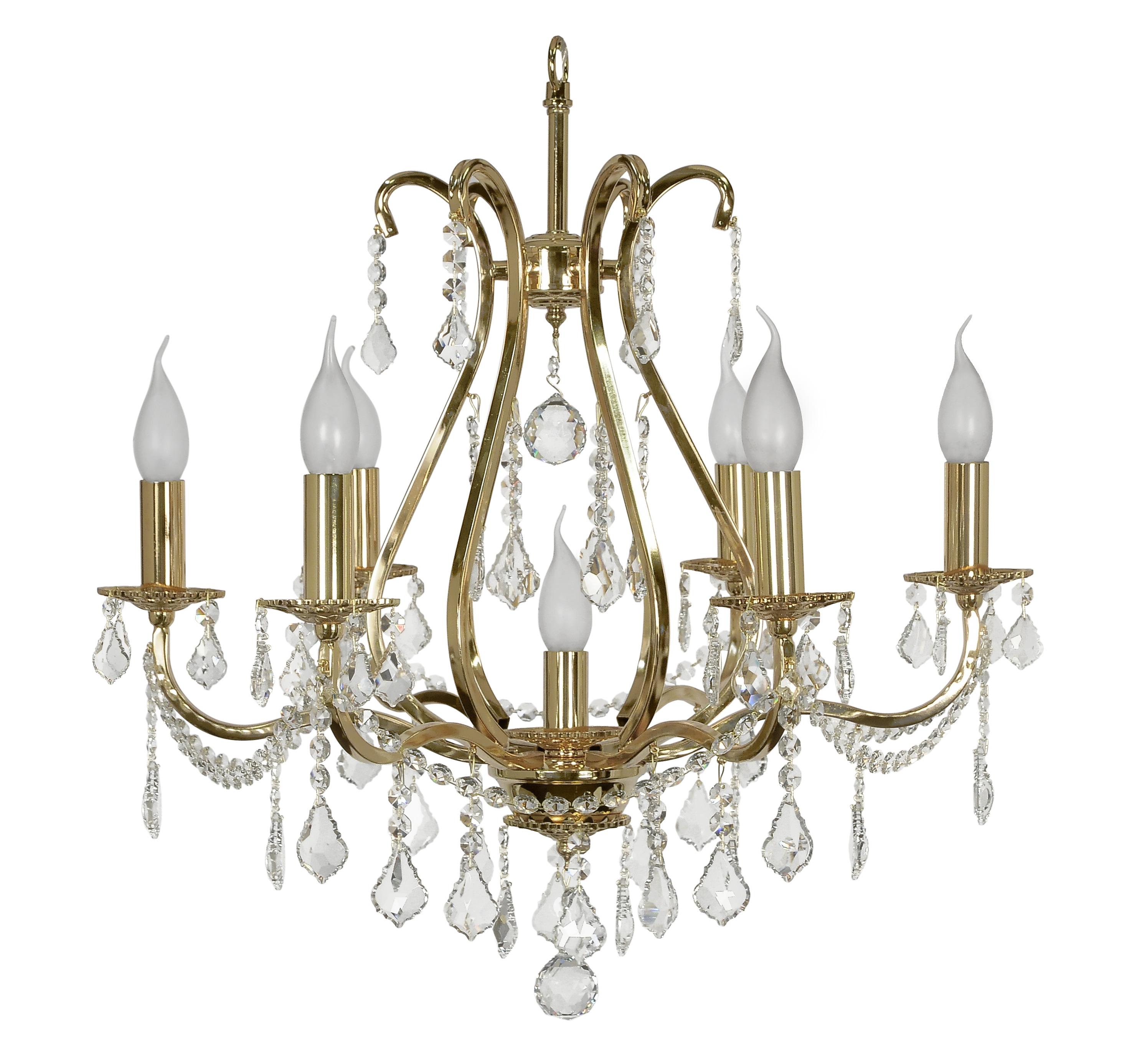 Люстра Arti lampadariЛюстры<br>Назначение светильника: для комнаты,<br>Стиль светильника: классика,<br>Материал плафона: стекло, хрусталь,<br>Материал арматуры: металл,<br>Диаметр: 550,<br>Высота: 600,<br>Количество ламп: 7,<br>Тип лампы: накаливания,<br>Мощность: 40,<br>Патрон: Е14,<br>Цвет арматуры: золото<br>