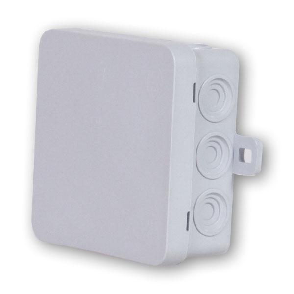 Коробка распаячная Rev ritterКоробки монтажные<br>Тип монтажного элемента: коробка распаячная,<br>Тип установки коробки: наружный монтаж,<br>Монтаж в: кирпич/бетон,<br>Высота: 37,<br>Диаметр: 85,<br>Цвет: белый,<br>Степень защиты от пыли и влаги: IP 54,<br>Герметичная: есть<br>