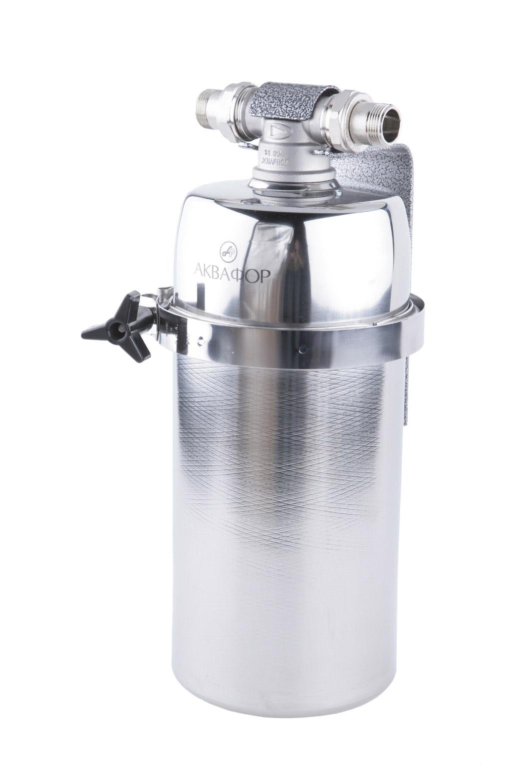 Корпус фильтра АКВАФОРФильтры для воды<br>Тип фильтра для воды: магистральный,<br>Назначение фильтра для воды: для горячей и холодной воды,<br>Функциональные особенности фильтра для воды: механической очистки,<br>Подключение к водопроводу: Есть<br>