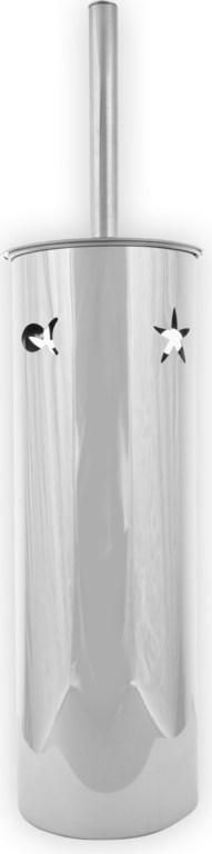 Ёршик PristineАксессуары для ванной комнаты<br>Назначение аксессуара: ёршик для унитаза, Цвет покрытия: хром, Материал: металл, Высота: 290, Ширина: 110, Глубина: 110<br>