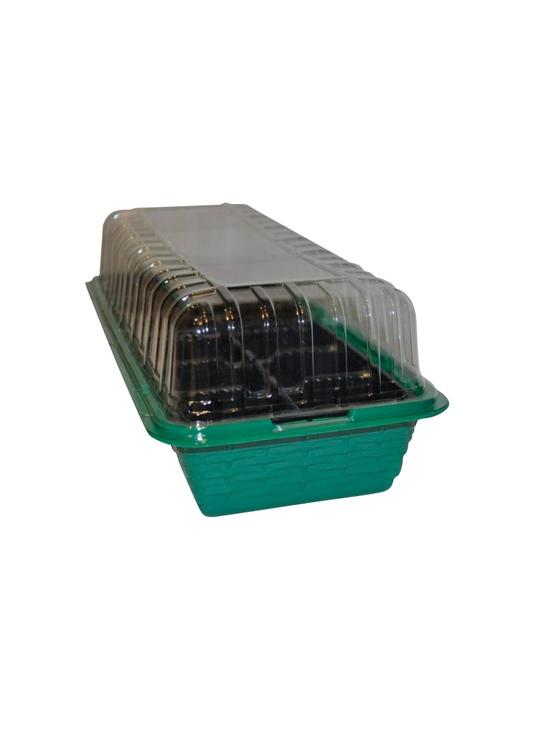 Парник Garden dreamsЕмкости для рассады<br>Тип емкости: минипарик, Материал: пластик, Число ячеек: 3<br>