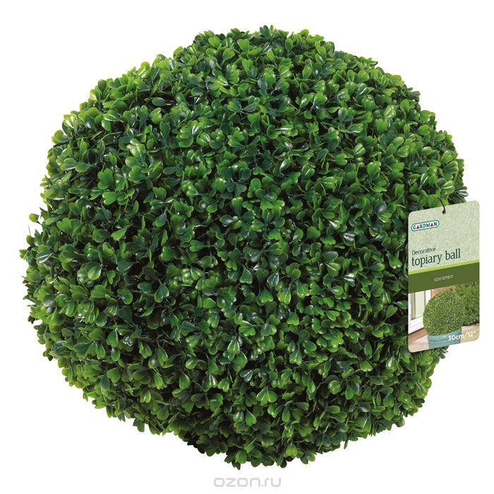 Искусственное растение GardmanФигуры садовые<br>Тип установки: настольный,<br>Материал: пластик,<br>Форма декора: растение<br>