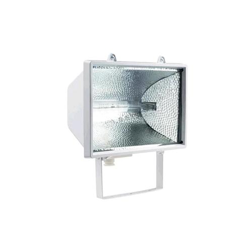 Прожектор ТДМПрожекторы<br>Мощность: 1000,<br>Количество ламп: 1,<br>Тип лампы: галогенная,<br>Патрон: R7s,<br>Цвет арматуры: белый,<br>Степень защиты от пыли и влаги: IP 54,<br>Тип: стационарный,<br>Штатив: есть,<br>Назначение прожектора: промышленный<br>