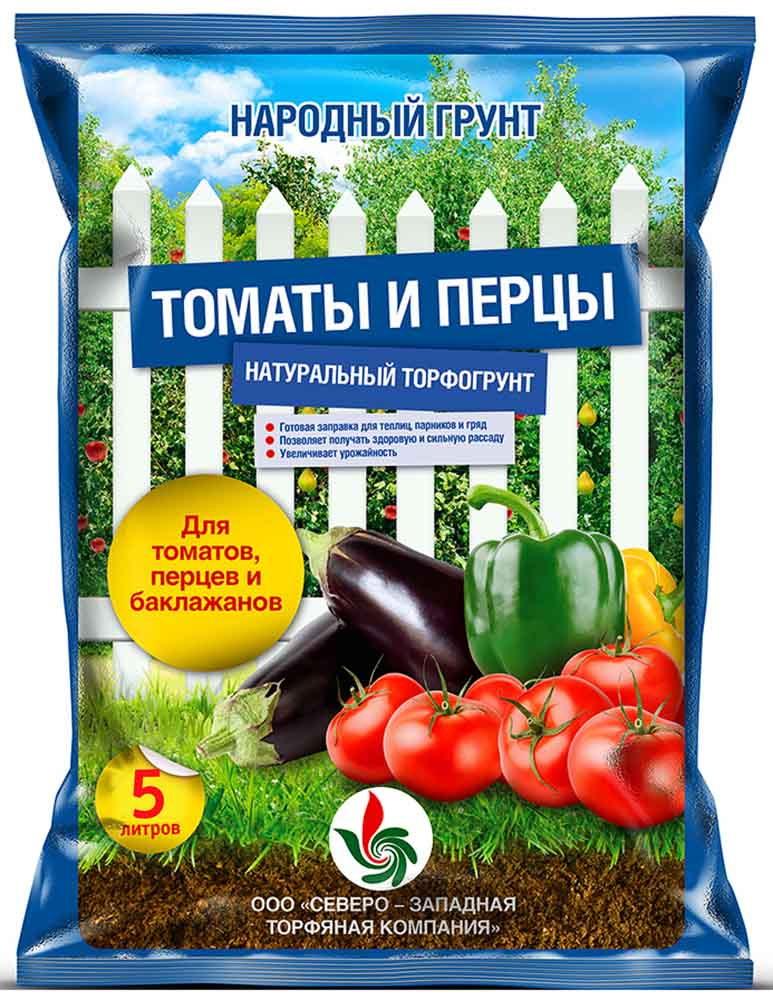 Грунт для томатов и перцев НАРОДНЫЙ ГРУНТ