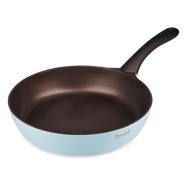 Сковорода RondellСковороды<br>Тип: сковорода,<br>Материал: алюминий,<br>Диаметр: 200,<br>Толщина стенок: 2.5,<br>Толщина дна: 4.5,<br>Покрытие чаши: антипригарное,<br>Для индукционных плит: есть<br>