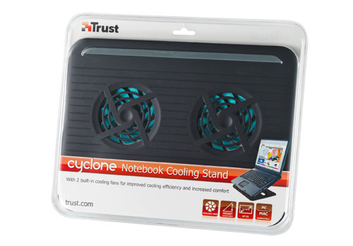 ��������� ��� �������� Trust Cyclone notebook cooling stand