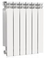 Радиатор алюминиевый RommerРадиаторы водяные<br>Установка: напольная,<br>Количество секций: 6,<br>Тип: водяной,<br>Материал изготовления радиатора: алюминий,<br>Исполнение: секционное,<br>Номинальный тепловой поток одной секции при t=70: 175,<br>Глубина: 572,<br>Ширина: 80,<br>Высота: 80<br>