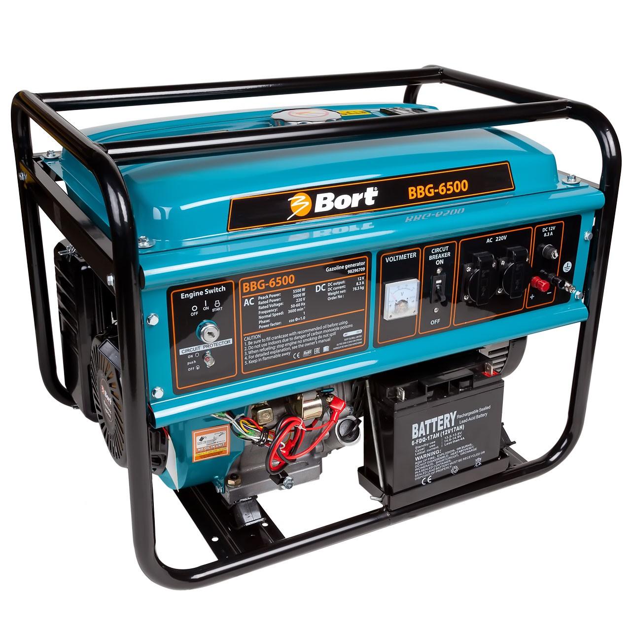 Бензиновый генератор Bort