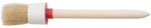 Кисть круглая КУРСКисти малярные<br>Тип кисти: круглая, Щетина: натуральная, Ширина: 55, Материал рукоятки: древесина<br>