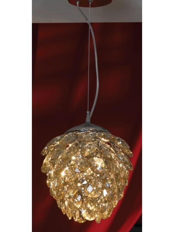 Люстра LussoleЛюстры<br>Назначение светильника: для комнаты,<br>Стиль светильника: флористика,<br>Тип: подвесная,<br>Материал светильника: металл, стекло,<br>Материал плафона: стекло,<br>Материал арматуры: металл,<br>Ширина: 210,<br>Высота: 120,<br>Количество ламп: 3,<br>Тип лампы: галогенная,<br>Мощность: 40,<br>Патрон: G9,<br>Цвет арматуры: хром<br>