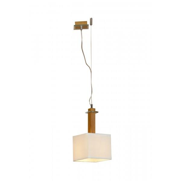 Светильник подвесной LussoleСветильники подвесные<br>Количество ламп: 1,<br>Мощность: 60,<br>Назначение светильника: подвесной,<br>Стиль светильника: модерн,<br>Материал светильника: металл, стекло,<br>Высота: 1200,<br>Ширина: 180,<br>Тип лампы: накаливания,<br>Патрон: Е27,<br>Цвет арматуры: хром<br>