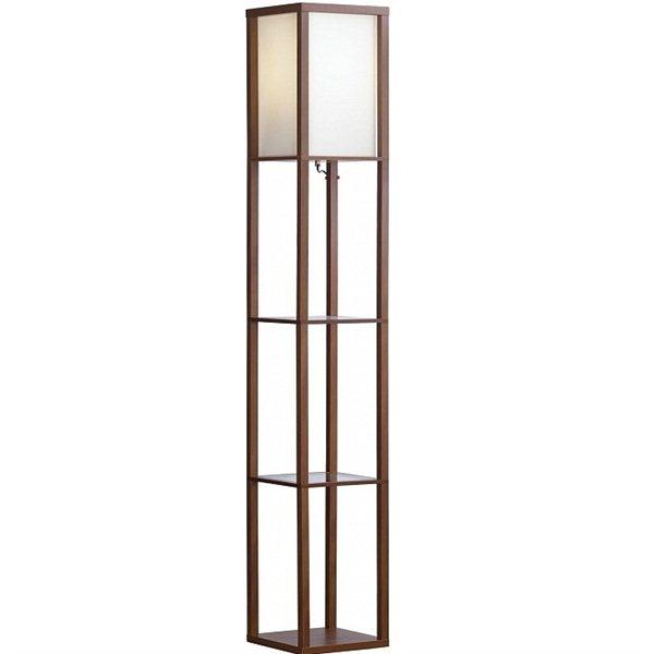 Торшер LgoТоршеры<br>Тип плафона: без плафона,<br>Стиль светильника: модерн,<br>Материал светильника: дерево, стекло,<br>Ширина: 260,<br>Количество ламп: 1,<br>Тип лампы: накаливания,<br>Мощность: 150,<br>Патрон: Е27,<br>Цвет арматуры: дерево,<br>Цвет плафона: белый,<br>Столик: есть<br>