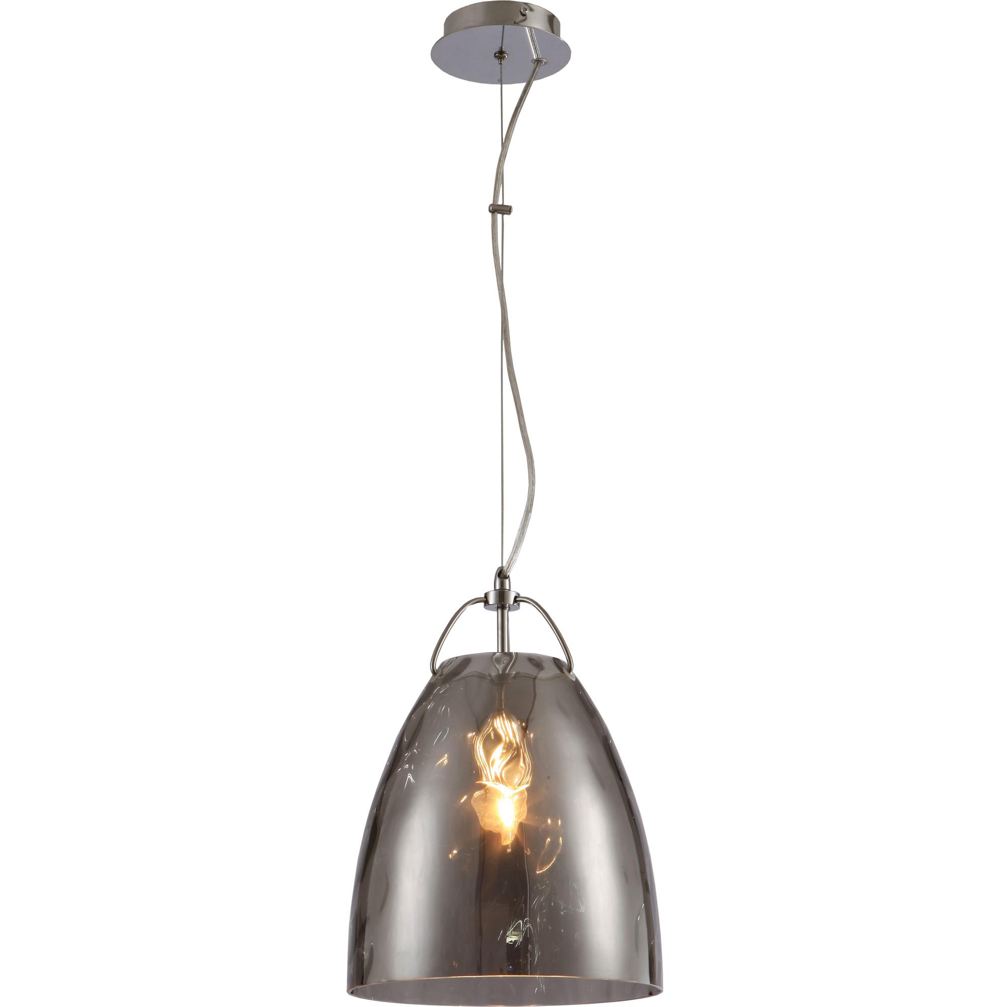 Светильник подвесной LoftСветильники подвесные<br>Количество ламп: 1, Мощность: 60, Назначение светильника: подвесной, Стиль светильника: стимпанк, Материал светильника: металл, стекло, Высота: 1200, Длина (мм): 360, Ширина: 250, Тип лампы: накаливания, Патрон: Е27, Цвет арматуры: хром<br>