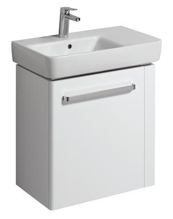 Тумба под раковину KeramagМебель для ванной комнаты<br>Тип: тумба,<br>Тип установки мебели для ванной: напольный,<br>Материал изготовления мебели для ванной: дсп,<br>Высота: 590,<br>Ширина: 604,<br>Глубина: 222,<br>Цвет мебели для ванной: цвета под дерево,<br>Коллекция: renova nr.1 comprimo<br>