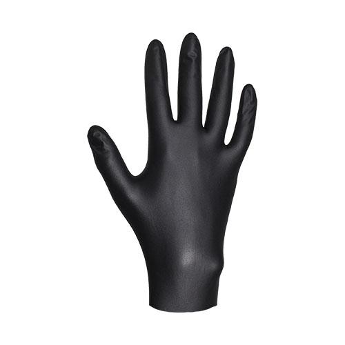 Перчатки нитриловые JetasafetyПерчатки и рукавицы<br>Тип: перчатки, Тип перчаток: нитриловые/мбс, Пол: унисекс, Размер: 7 (S), Цвет: черный<br>