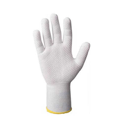 Перчатки JetasafetyПерчатки и рукавицы<br>Тип: перчатки, Тип перчаток: нейлоновые, Пол: унисекс, Размер: 7 (S), Цвет: белый<br>
