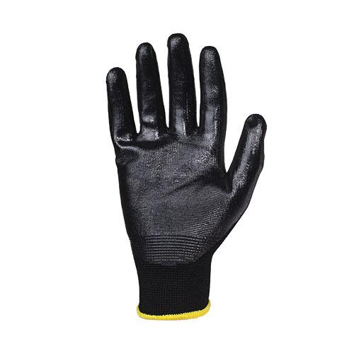 Перчатки нитриловые JetasafetyПерчатки и рукавицы<br>Тип: перчатки,<br>Тип перчаток: нитриловые/мбс,<br>Пол: унисекс,<br>Размер: L,<br>Цвет: черный<br>