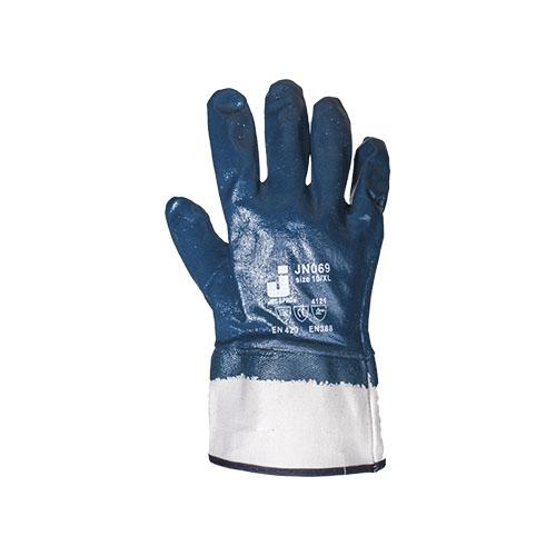 Перчатки JetasafetyПерчатки и рукавицы<br>Тип: перчатки,<br>Тип перчаток: нитриловые/мбс,<br>Пол: унисекс,<br>Размер: L,<br>Цвет: синий<br>