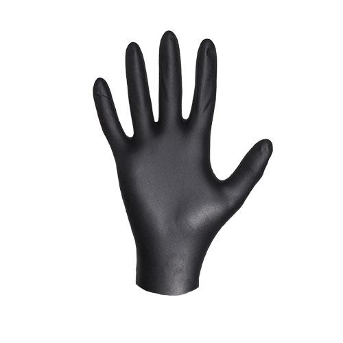 Перчатки нитриловые JetasafetyПерчатки и рукавицы<br>Тип: перчатки,<br>Тип перчаток: нитриловые/мбс,<br>Пол: унисекс,<br>Размер: 8 (M),<br>Цвет: черный<br>
