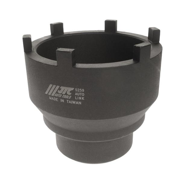 Головка JtcИнструмент для монтажно-демонтажных работ (съемники)<br>Тип: головка, Назначение: для ступиц, Длина (мм): 110<br>