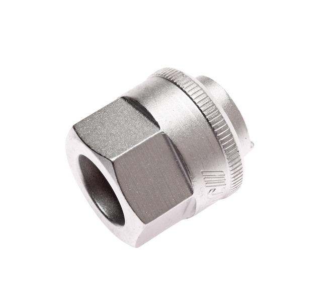 Головка JtcДополнительный инструмент<br>Тип: Головка, Назначение: для снятия и установки верхней гайки крепления амортизатора<br>