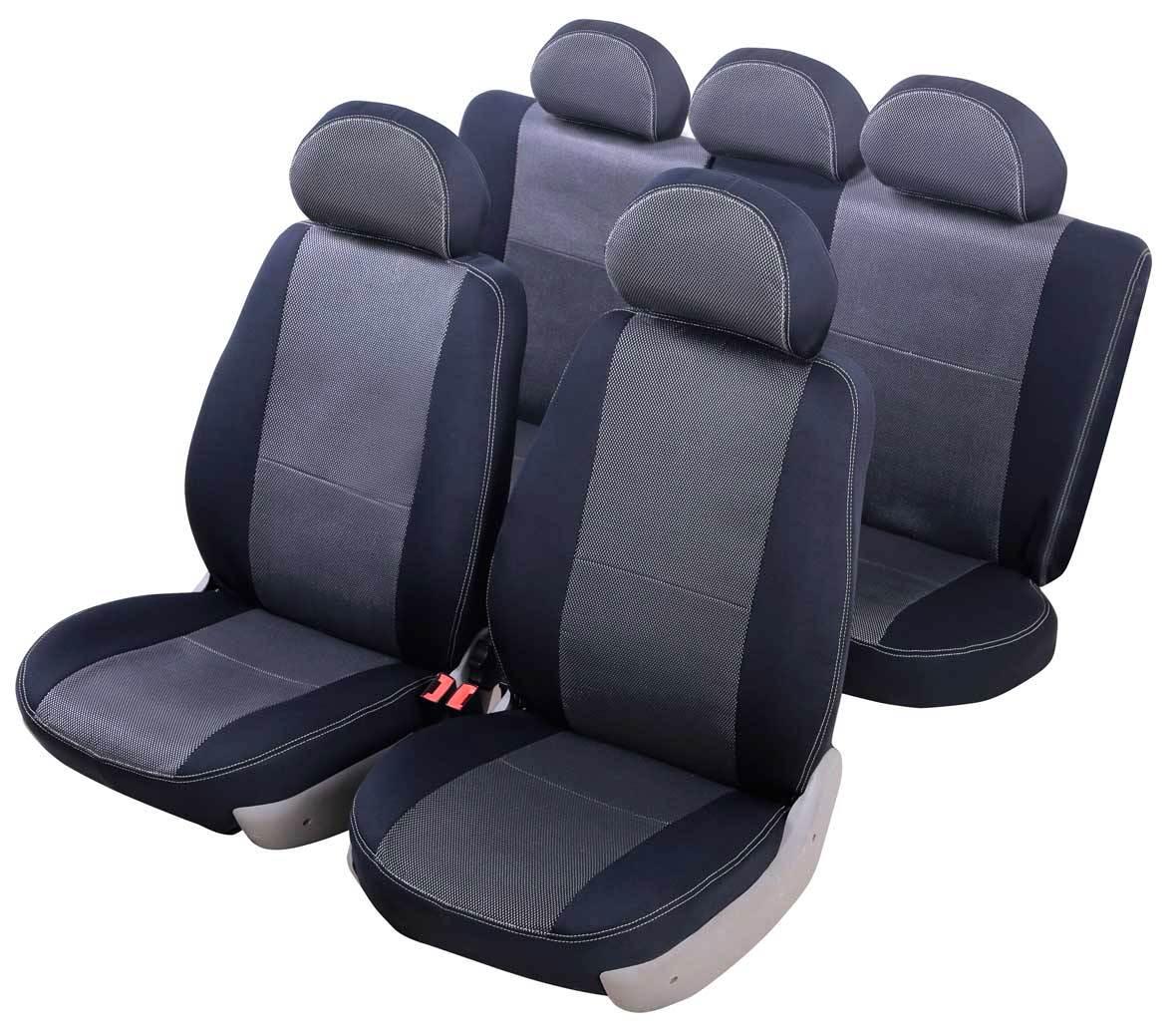 Чехол на сиденье SenatorЧехлы на сиденья<br>Тип: чехол,<br>Материал: жаккард,<br>Цвет: черный<br>