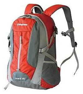 Рюкзак King campРюкзаки<br>Назначение рюкзака: туристический, Тип конструкции: анатомический, Тип: рюкзак, Объем: 28, Число лямок: 2, Высота: 480, Ширина: 280, Толщина: 180, Материал: нейлон, Цвет: красный, Боковые карманы: есть, Фронтальный карман: есть, Боковая стяжка: есть, Поясной ремень: есть<br>