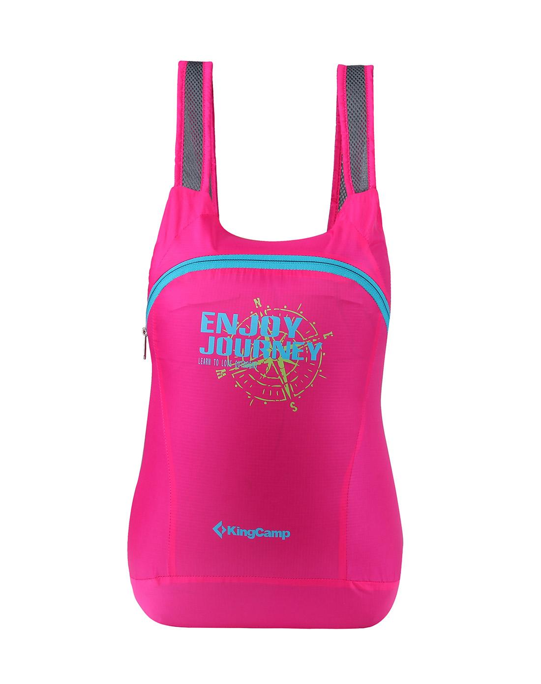 Рюкзак King campРюкзаки<br>Назначение рюкзака: городской, Тип конструкции: мягкий, Тип: рюкзак, Объем: 12, Число лямок: 2, Материал: полиэстер, Цвет: розовый<br>