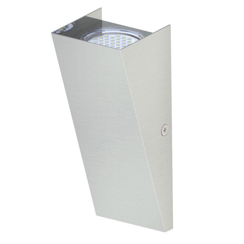 Светильник уличный EgloСветильники уличные<br>Мощность: 2.5, Тип установки: настенный, Стиль светильника: модерн, Количество ламп: 1, Тип лампы: светодиодная, Патрон: LED, Степень защиты от пыли и влаги: IP 44, Цвет арматуры: хром<br>