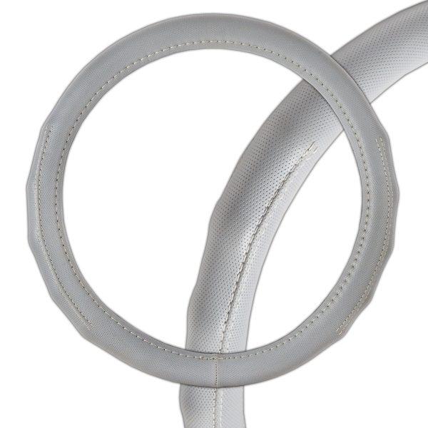 Оплетка SkywayОплетки на руль<br>Размер руля: M (38 см), Материал оплетки: кожа<br>