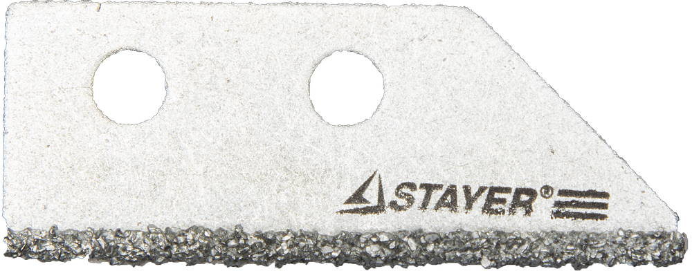 Лезвие StayerНожи ручные<br>Тип: лезвие, Тип ножа: с трапециевидным лезвием, Длина лезвия: 50, Длина (мм): 50<br>