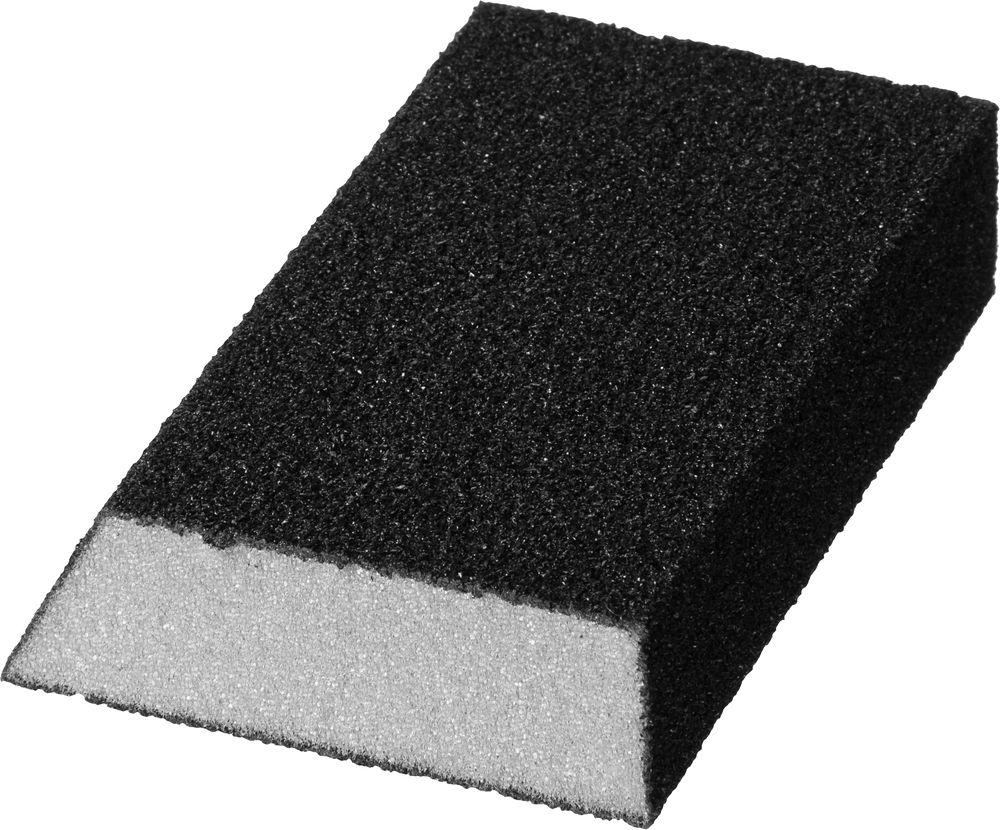 Губка шлифовальная StayerБруски шлифовальные<br>Длина (мм): 100, Ширина: 68, Высота: 26, Зернистость: 80<br>