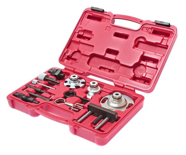 Набор JtcИнструмент для ремонта двигателя<br>Тип: набор,<br>Назначение инструмента: для ГРМ,<br>Набор: есть<br>