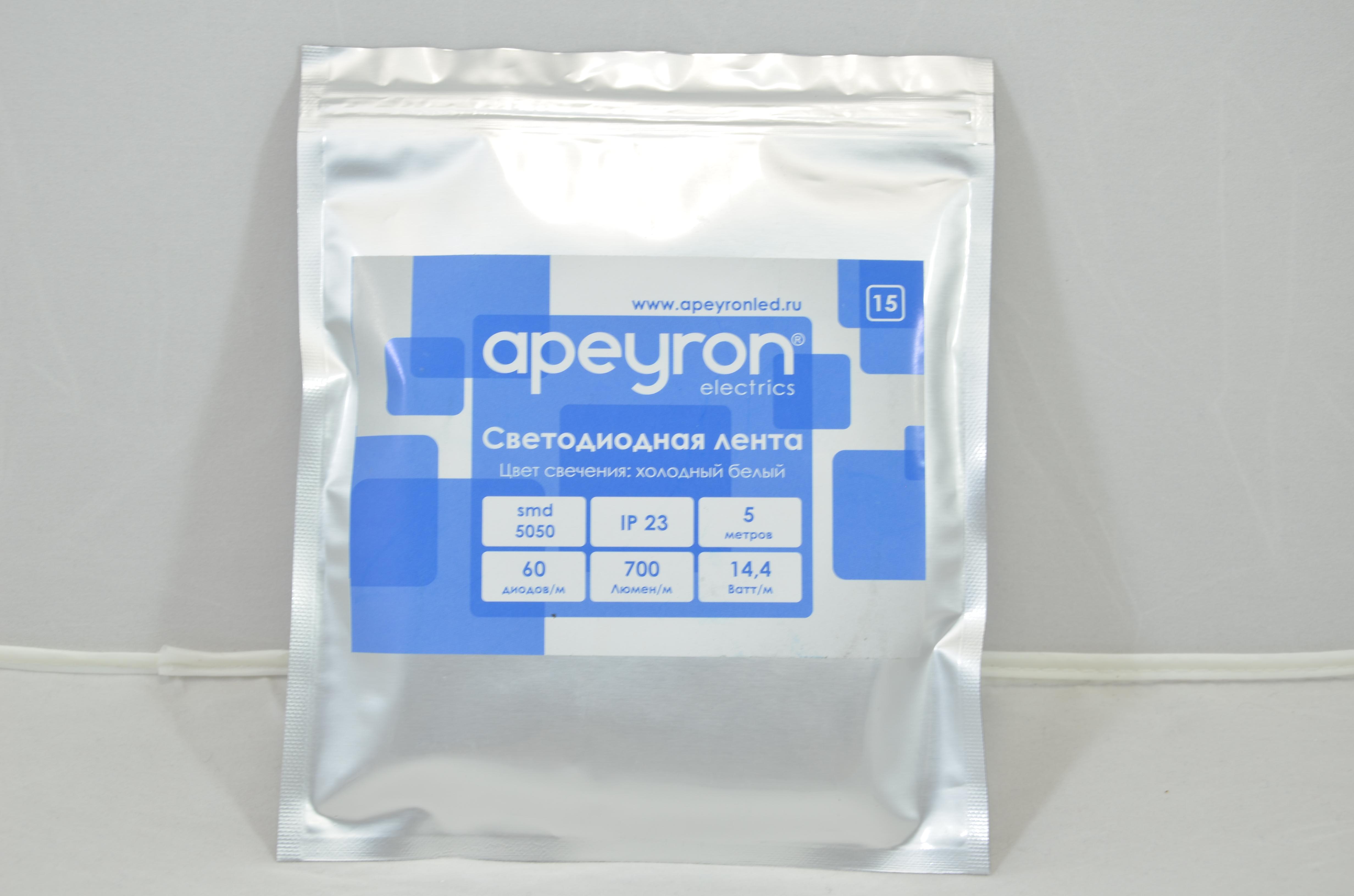 Лента светодиодная Apeyron