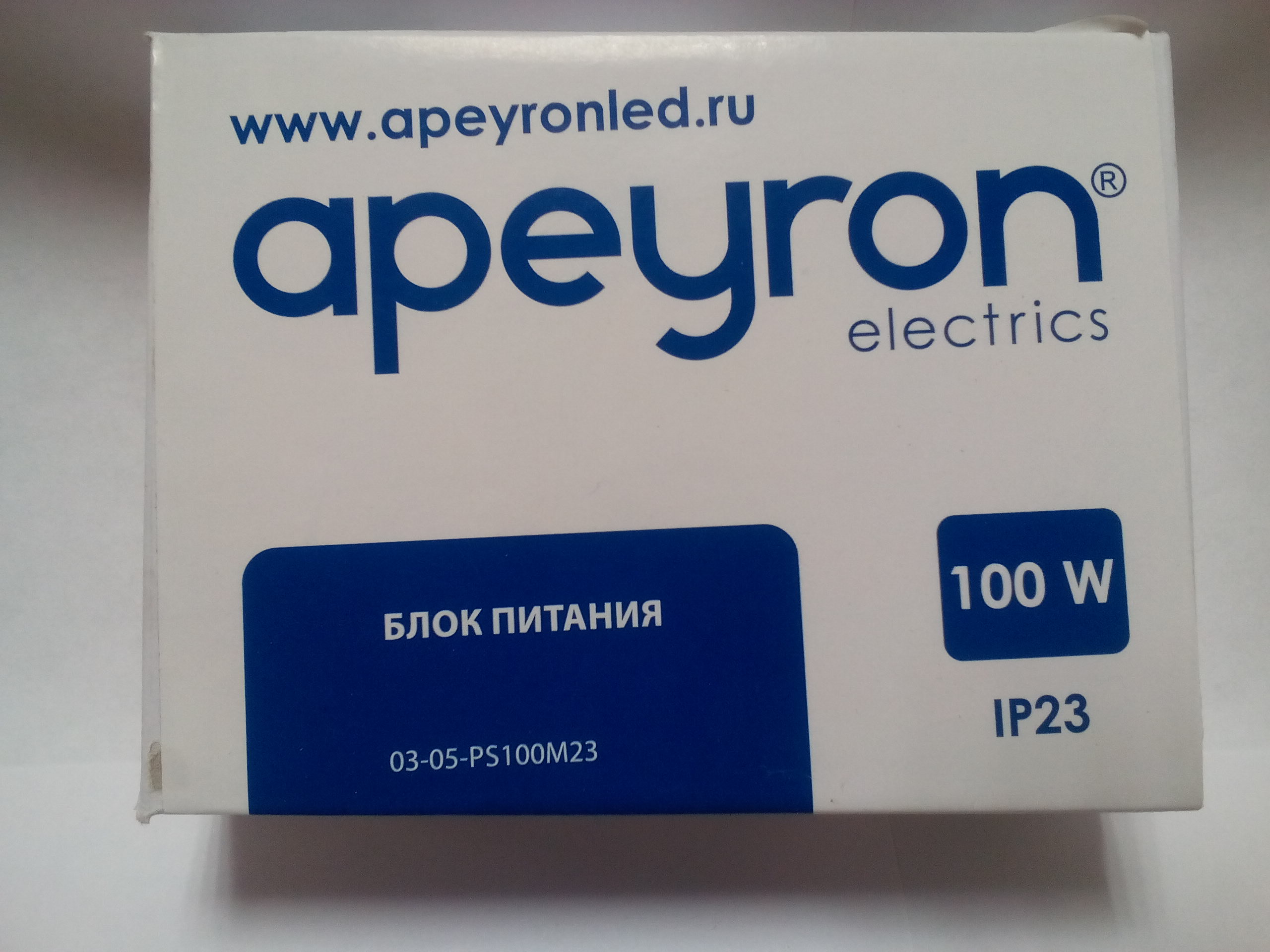 Блок питания Apeyron