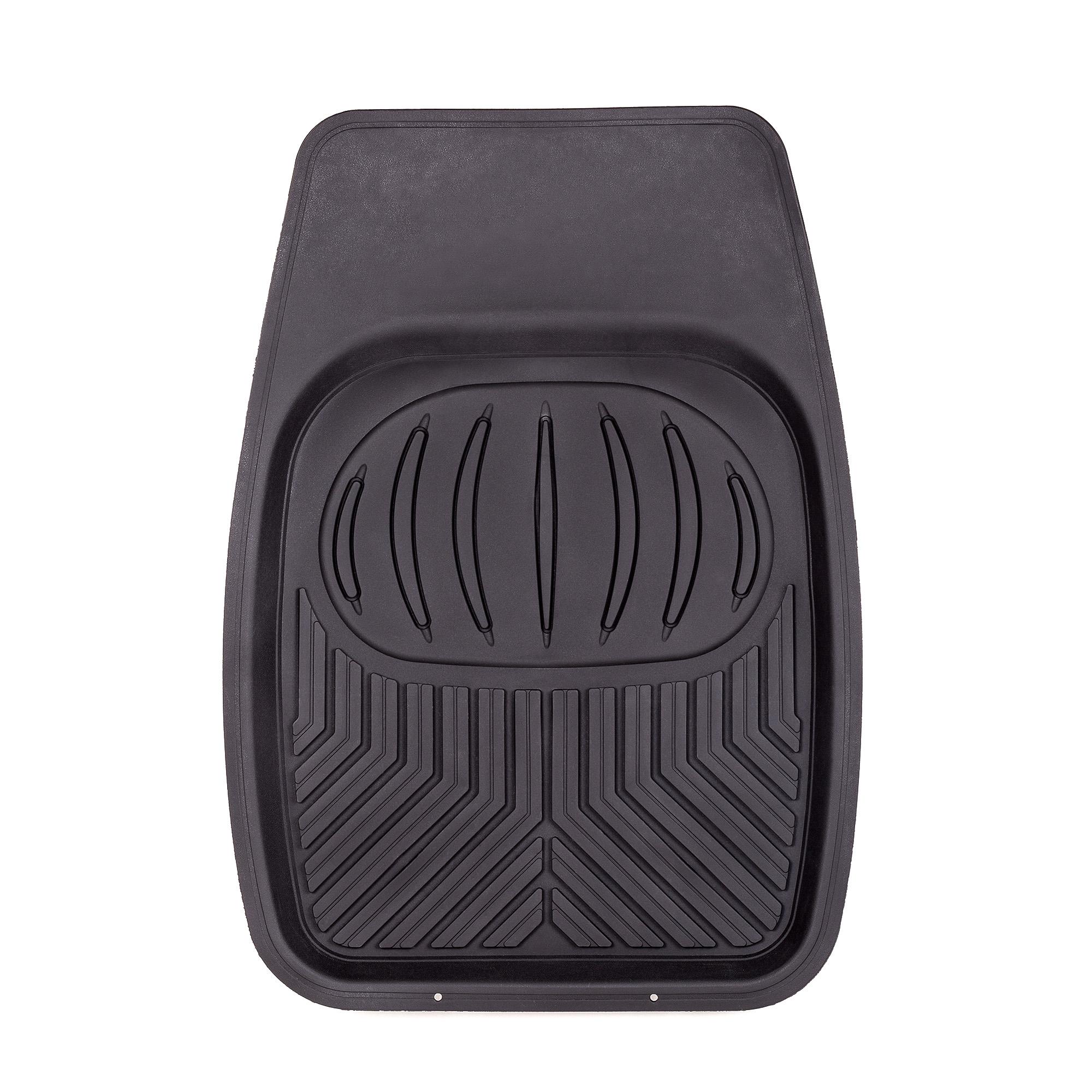 Autoprofi Коврики transform,  морозостойкие, задний длинный, 51х166см, термопласт, чёрный, 1/4