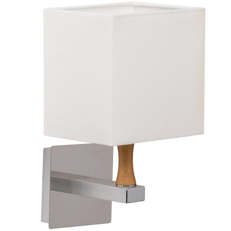 Бра Mw lightНастенные светильники и бра<br>Тип: бра,<br>Назначение светильника: для спальни,<br>Стиль светильника: классика,<br>Материал светильника: металл, текстиль, дерево,<br>Тип лампы: накаливания,<br>Количество ламп: 1,<br>Мощность: 40,<br>Патрон: Е14,<br>Цвет арматуры: хром,<br>Длина (мм): 150,<br>Ширина: 160,<br>Высота: 270,<br>Коллекция: Кроун<br>